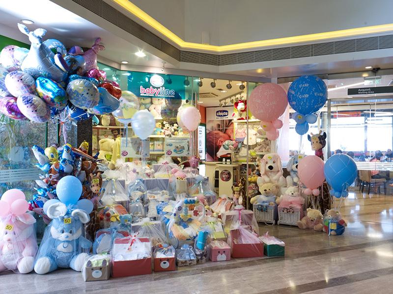 """4a61337b64f Το κατάστημα βρεφικών ειδών """"Babyline"""" στο ισογείου του ΙΑΣΩ"""