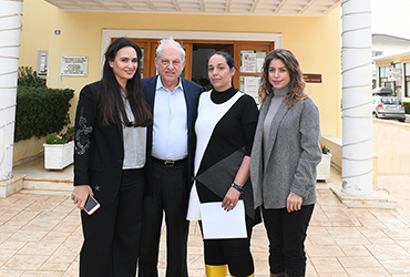 Dr. Georgios Stamatiou visits Mandra to aid the Residents